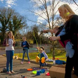 Circus Skills at Woodovis Park