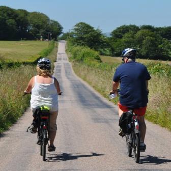 Electric bike hire from Woodovis Park in Devon