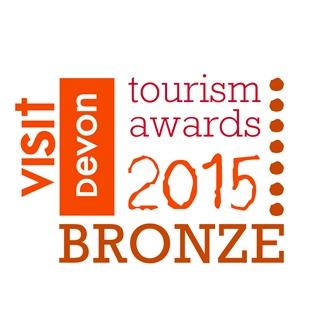 Visit Devon Awards 2015 Bronze Sustainable Tourism Award