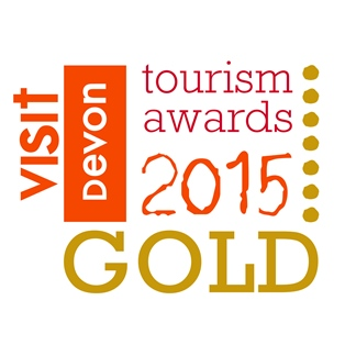Gold award in Devon Tourism Awards Camping & Caravanning Park 2015