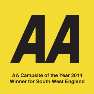 AA Campsite of the Year 2014 logo