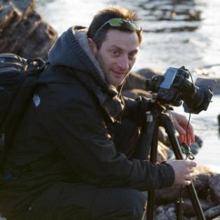 Dartmoor Landscape Photographer in action