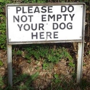 An image of a daft sign