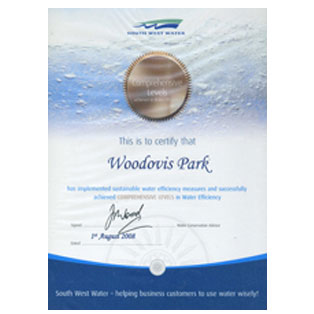 woodovis-park-camping-touring-devon-awards-water-efficiency
